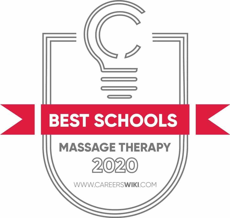 Top Massage School Award 2020 from careerswiki